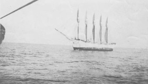 3 Carroll passes lightship